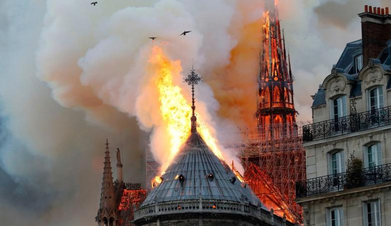 تحليل أولي فرنسي يكشف أسباب حريق كاتدرائية نوتردام