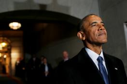 """اوباما ينال جائزة """" جون كيندي """" للشجاعة عن العام """"2017"""""""