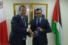 وزير الثقافة يبحث مع نظيره المالطي التعاون المشترك