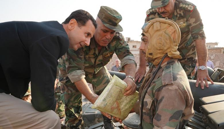 """بشار الأسد يهاجم اردوغان """" لص وحرامي """""""