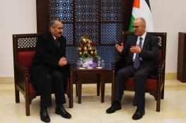 الحمد الله يبحث مع وزير الداخلية الاردني تعزيز التصدير والاستيراد بين البلدين
