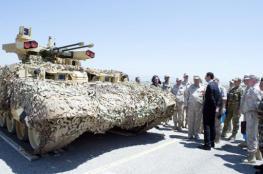 بالصور : روسيا تكشف لبشار الأسد عن مدرعة خارقة.. يتم اختبارها في سوريا وهذه إمكاناتها