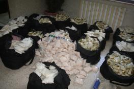 القبض على ثلاثة أشخاص بحوزتهم مواد مخدرة في نابلس