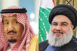 """نصر الله : لا احب الملك سلمان لكن قلبي """"احترق عليه """""""