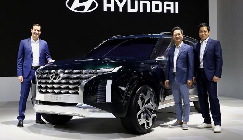 """هونداي تكشف عن سيارتها الجديدة """" HDC-2 جراند ماستر """""""