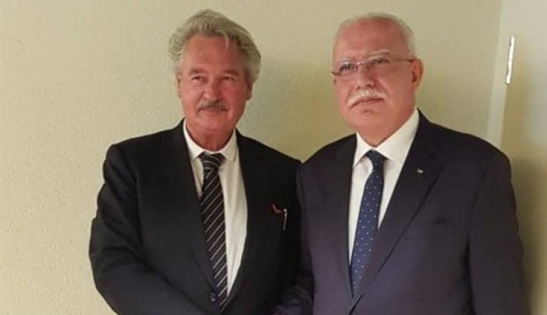 المالكي يلتقي وزير خارجية بولندا