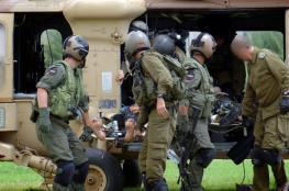 اصابة جنديين اسرائيليين في حادث انقلاب آلية عسكرية