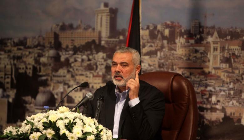 هنية يثمن دور مصر في مساعدة الشعب الفلسطيني