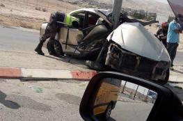 219 إصابة في 249 حادث سير الأسبوع الماضي بالضفة الغربية