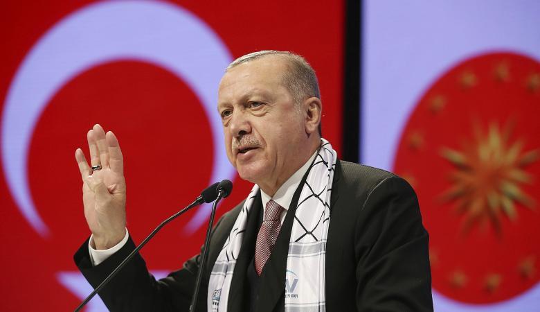 """اردوغان من باكستان : """"لن نترك القدس تحت رحمة المحتلين  """""""