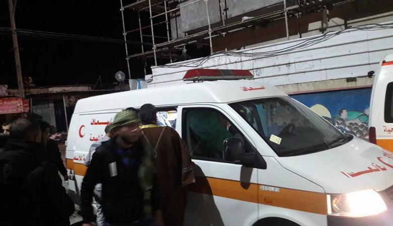وفاة ام واطفالها  و3 اصابات   في حريق شب داخل منزل برفح