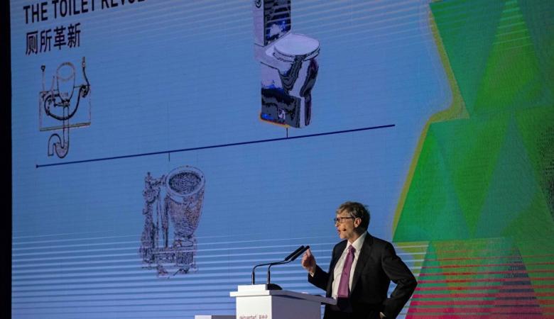 """""""ثورة المراحيض""""... غيتس يتجه لتوفير 233 مليار دولار"""