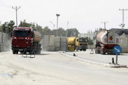 مهنا يصل قطاع غزة لتسلم المعابر