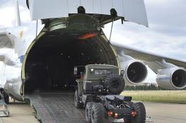 """شاهد ..اللحظات الاولى لوصول النظام الصاروخي """"اس -400 """" الى تركيا"""