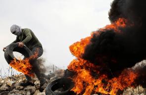 الاحتلال يقمع مسيرة كفرقدوم الاسبوعية