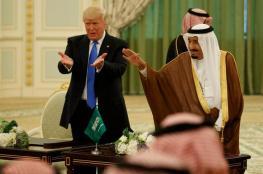 """ترامب : الملك سلمان قال لي بأنه لا يعرف اي شيئ بما يخص """"خاشقجي """""""
