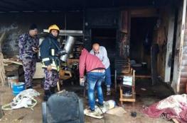 اصابتان احداها خطرة في انفجار عبوة تنر في قلقيلية