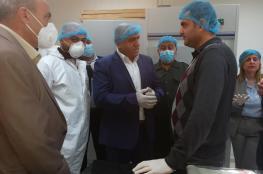 افتتاح أول مختبر لفحص عينات كورونا في جنين