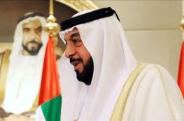 خليفة بن زايد : نقف مع شعبنا الفلسطيني بقوة حتى نيل حقوقه
