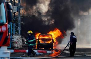 تعرض مستوطنات ومدن الداخل المحتل  لقصف صاروخي فلسطيني