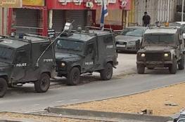 الاحتلال يشدد من اجراءاته الأمنية في حوارة بعد استهداف مركبات للمستوطنين