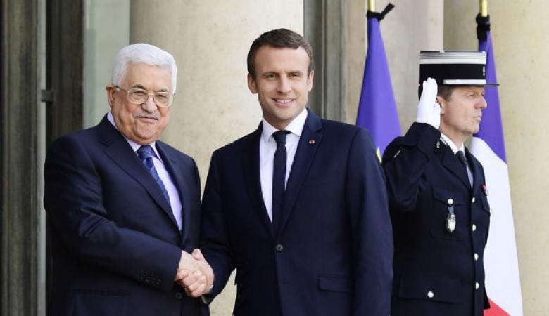"""السلطة تطالب الرئيس الفرنسي بالضغط على """"إسرائيل"""" لإجراء الانتخابات"""