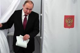 بوتين يفوز بولاية جديدة بأكثر من 73% من الأصوات