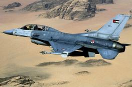 سلاح الجو الأردني يسقط طائرة فوق الحدود الشمالية