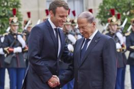 الرئيس الفرنسي يؤكد لعون : سنواصل دعم لبنان