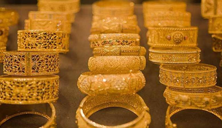 أسعار الذهب تتراجع من اعلى سعر لها في ثلاثة أشهر