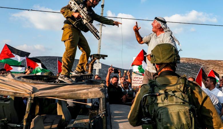 """الضم ..""""اسرائيل"""" تضع موعداً نهائياً لتطبيق الخطة"""