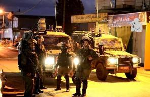 قوات الاحتلال تقتحم مدينة البيرة للمرة الخامسة على التوالي