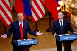 """ترامب لبوتين: """"من فضلكم لا تتدخلوا في الانتخابات الامريكية """""""
