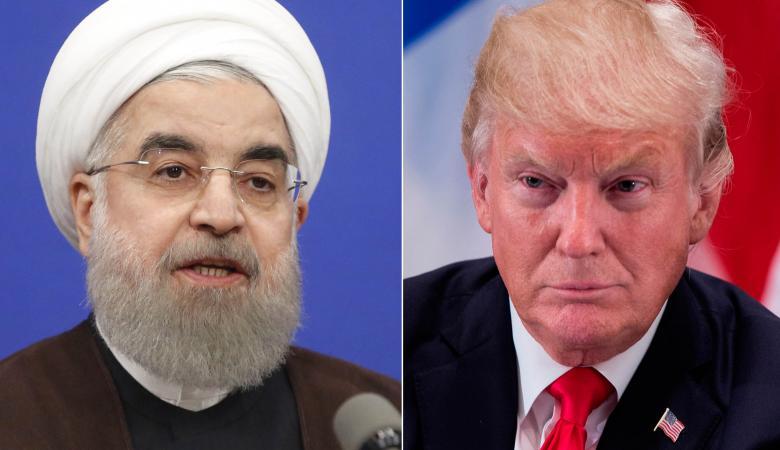 روحاني : ترامب تراجع عن تهديداته بشأن ايران