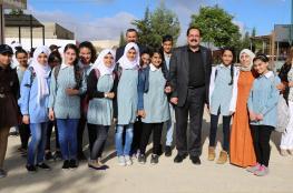 وزير التربية والتعليم يجري جولة تفقدية في مدارس بيتونيا