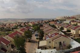 مسؤول بارز : 40 % من اراضي الضفة  تحت سيطرة المستوطنين