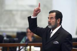 """تعليق مثير من خامنئي في ذكرى استشهاد """"صدام حسين """""""