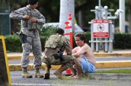 سعودي يقتل ويجرح 6 أمريكيين في هجوم اطلاق نار على قاعدة عسكرية