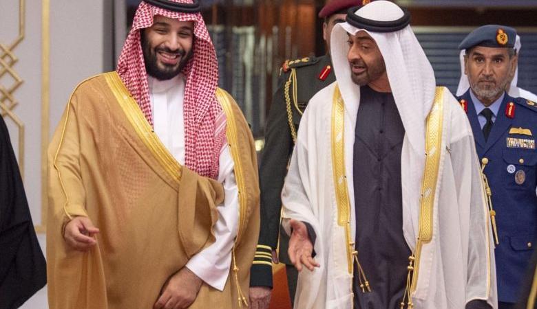 هجوم سعودي اماراتي على اسرائيل