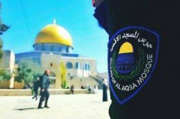 الاحتلال يمنع حراس الأقصى من دخوله حتى إشعار آخر