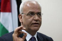 عريقات: الصراع مع إسرائيل سياسي بامتياز