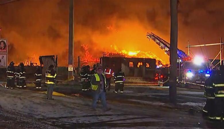 كارثة الحرائق تصل إلى الولايات المتحدة
