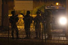 الاحتلال يعتقل 4 مواطنين من بلدة الزاوية غرب سلفيت