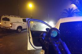 اشتباك مسلح بين قوة اسرائيلية وفلسطينيين شرق رام الله