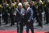 العاهل الأردني يغادر رام الله بعد مباحثات استمرت نحو ساعتين مع الرئيس
