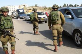 الاحتلال يخنق نابلس ويغلق حاجز حوارة جنوب المدينة