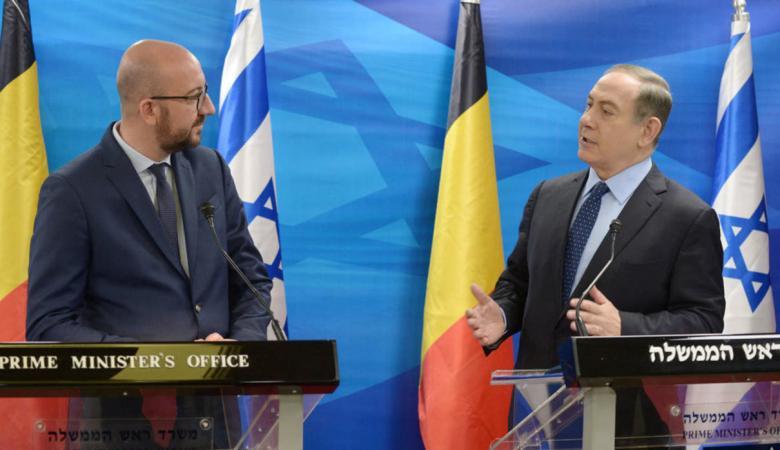 """""""اسرائيل"""" توبخ نائب سفير بلجيكا"""
