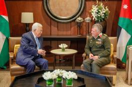 مباحثات بين الرئيس والعاهل الاردني في عمان