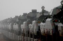 تركيا تدفع بالمزيد من قواتها على الحدود السورية