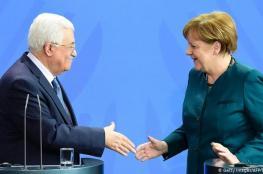الرئيس يبعث برقية الى انجلينا ميركل والرئيس الالماني